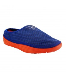 Vostro Men Casual Shoes Gold Men Royal Blue Orange VCS0033